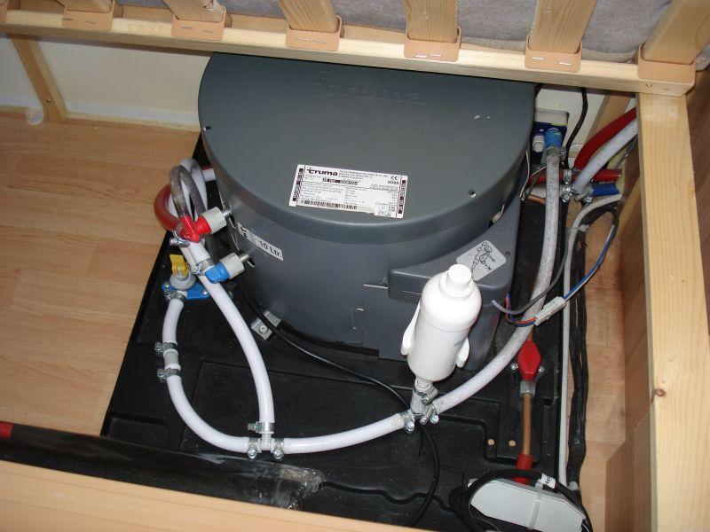Truma Ultrastore Water heater - Atlantic Caravans
