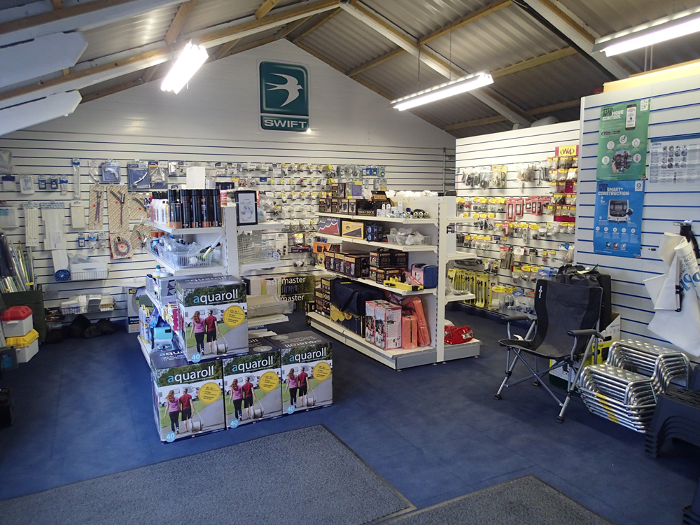 caravan accessories shops